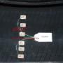 mesure de temperature et de deformation sur pneumatique