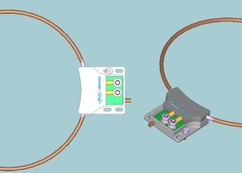 Boucle d'induction pour module couplemètre sans contact