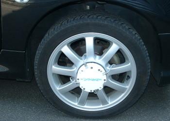 mesure de contraintes et de temperature sur roue automobile