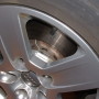 mesure de temperature sur disque de frein automobile