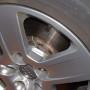 mesure de température  sans contact sur disque de frein automobile