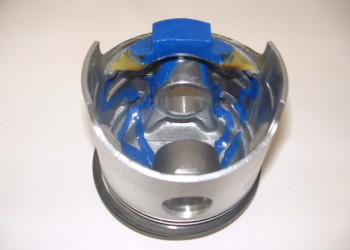 mesure de temperature sur piston automobile